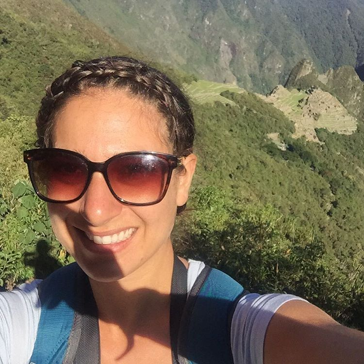 "Meet Amanda, our Northeast Regional Sales Rep. (Picture taken from the top of Machu Picccu!) ""I give a shit about educating people about other cultures and places and inspiring others to think about the impact they want to make in this world.""..."