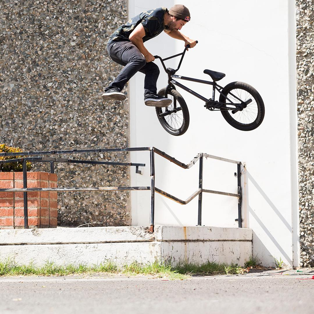 @ReynoldsFiend • 26 years old • San Diego, Calif. • Eight ❌ Games gold medals • Fiend Bikes  Click the link on our profile page to check out his #RealBMX edit! (