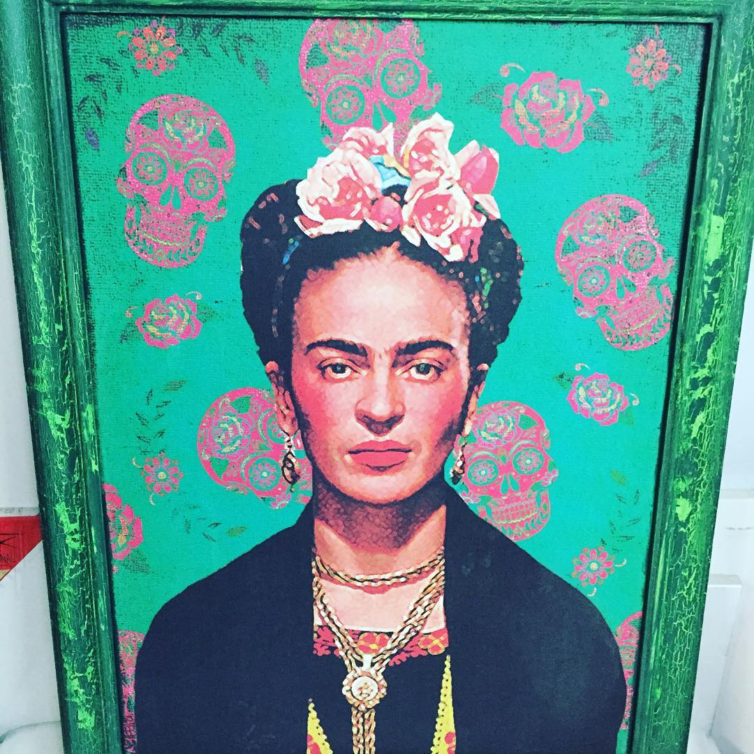 #chilimango #fridakahlo #art #decoracion #deco #decoration #decor #designer #desing #cuadro
