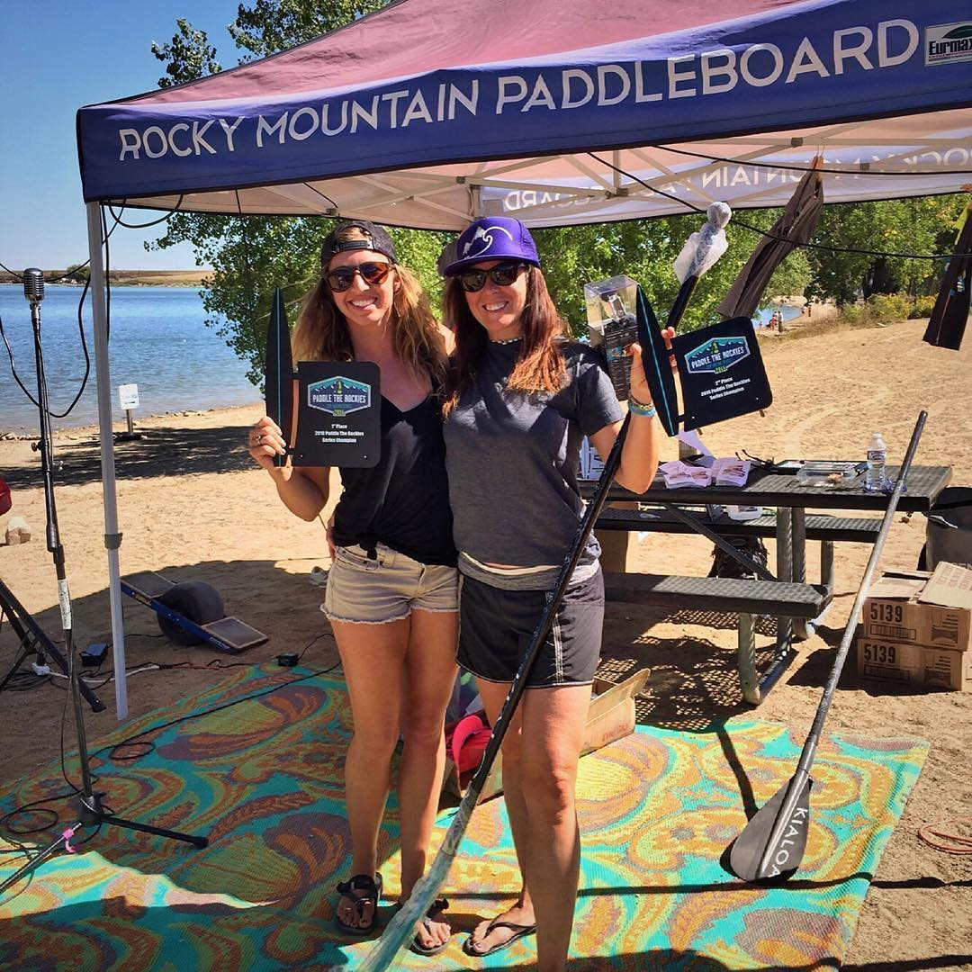 Congrats to #halagear athletes  @trinwa and @flowathlete this weekend on a 1st and 2nd in the paddle the Rockies series!