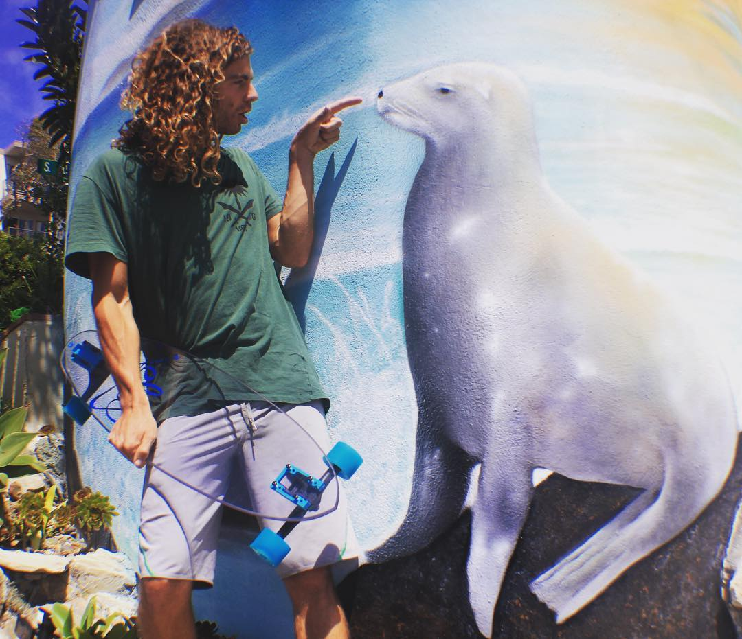 *Boop* #jellyskateboards #jellylife #danapoint #california #longboard #skateboard