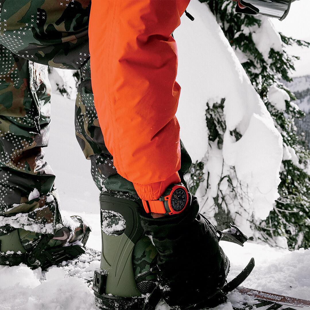 Snow smart. Created to withstand the harsh elements of the outdoors and whatever you put it through, the #Mission is your all-terrain smartwatch built for mountain conditions and more. Pre-order yours today (US only) at nixon.com. Available everywhere...