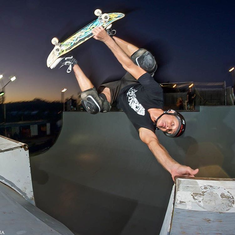Rad shot from Last night - Bob Umbel Ramona ramp