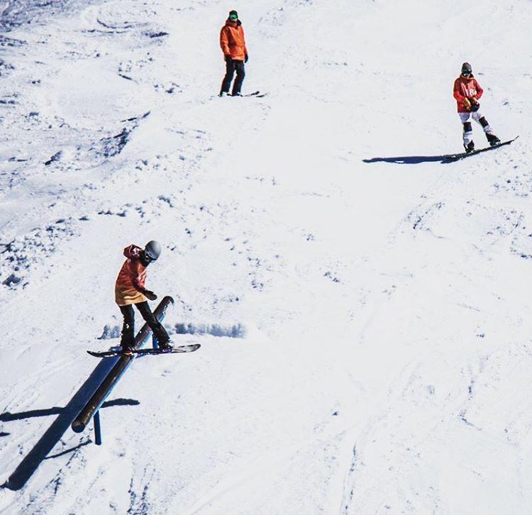 Delfina Lemann suma un primer puesto más para el team en el Abierto Argentino de Snowboard en Cerro Catedral