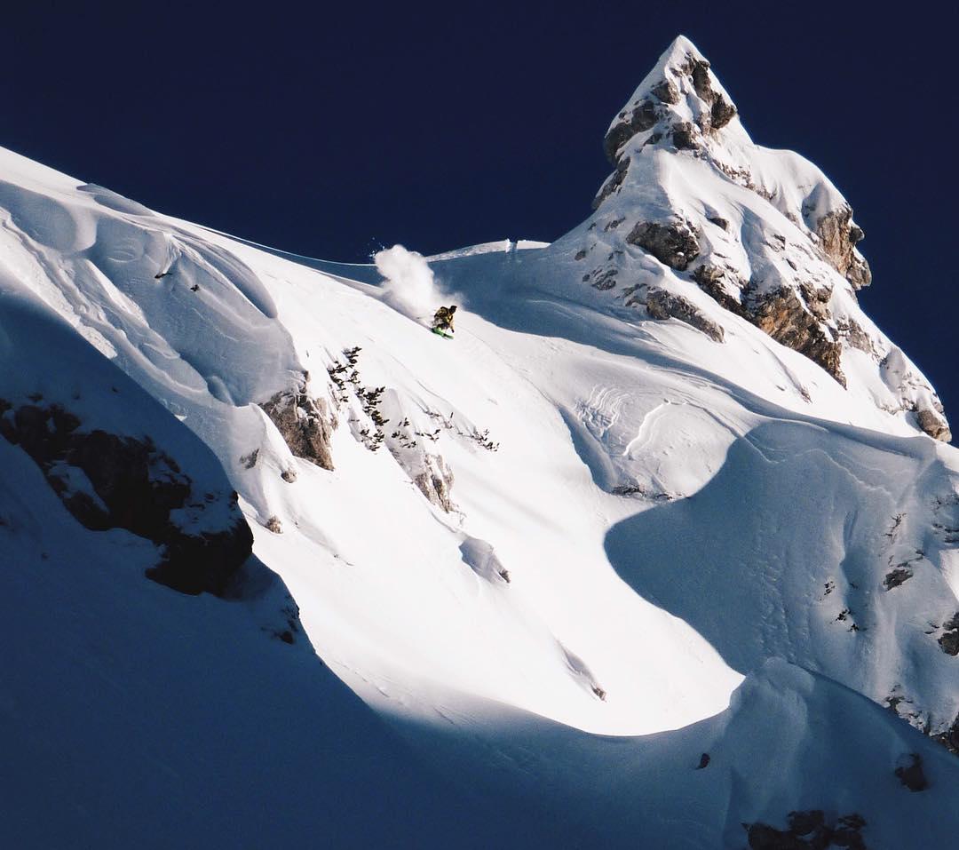 #defineyourroute Skier: @binezalohar