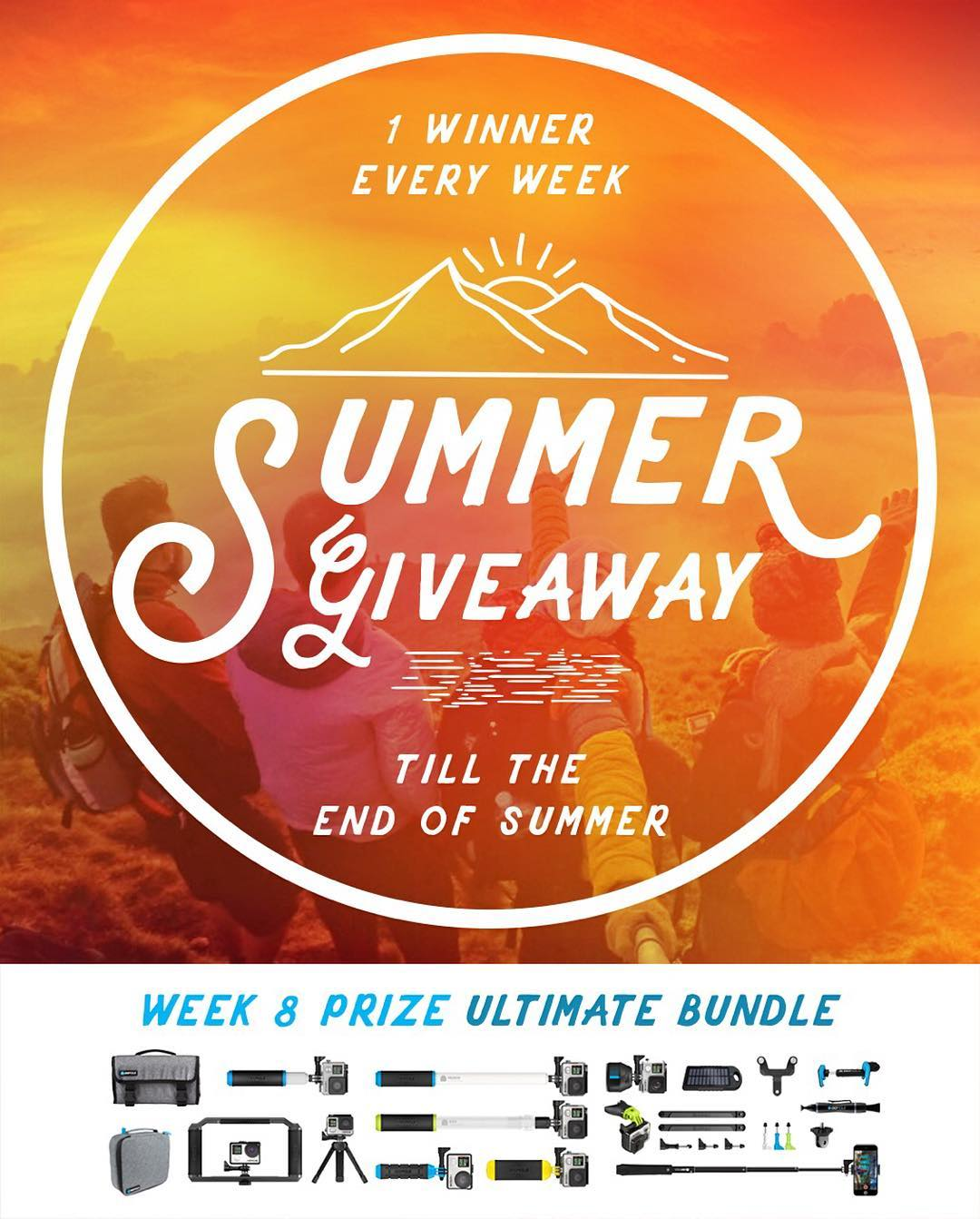 Congrats to week 7 winner, John Caldwell from Richmond, KY, USA. Final winner announced September 22 - Ultimate Bundle. No purchase necessary, enter once or enter every day to increase your changes of winning. Enter now by clicking the link in our bio....