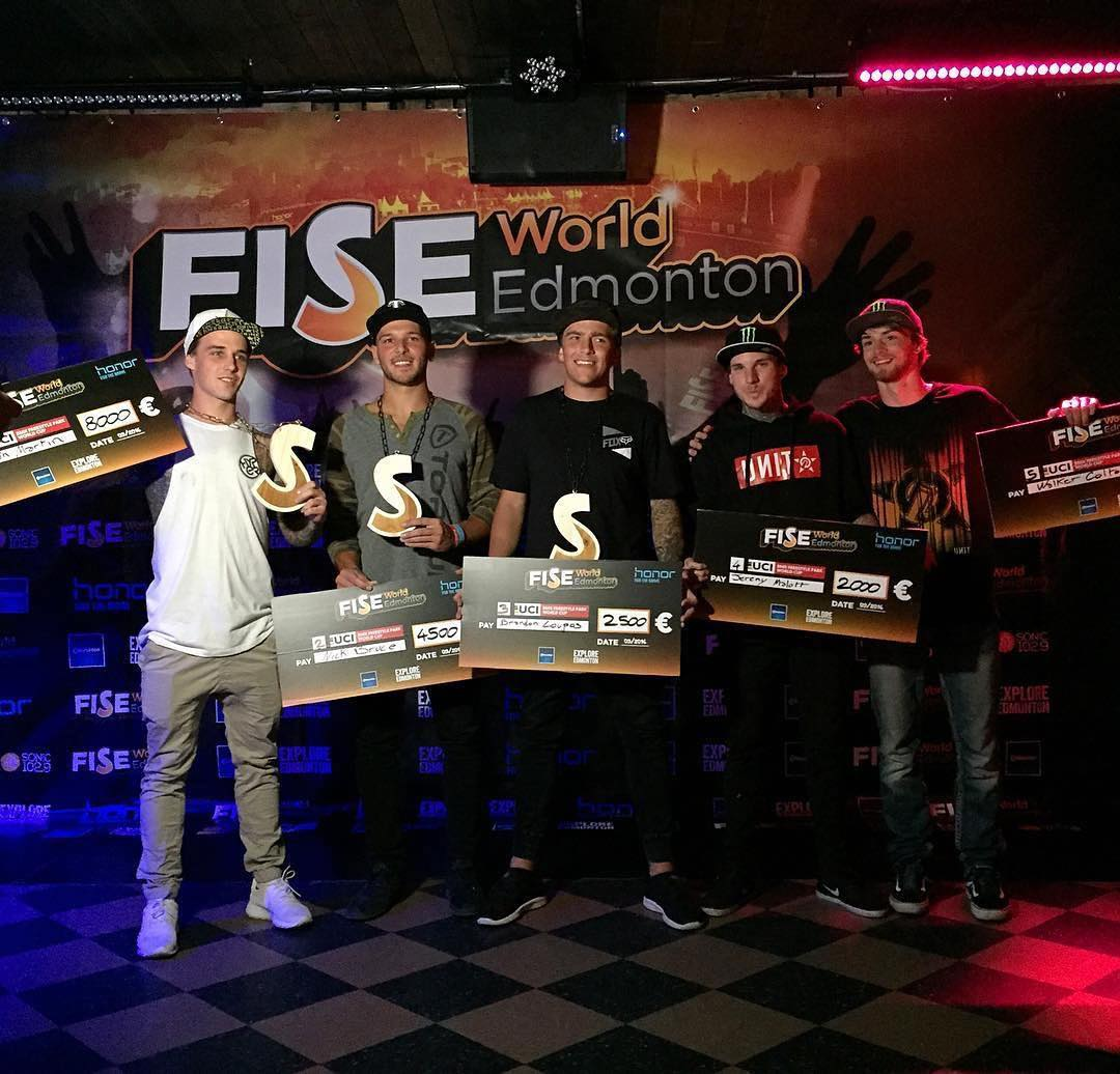 Congrats to @nick_bruce taking home 2nd place this weekend at @fiseworld Edmonton