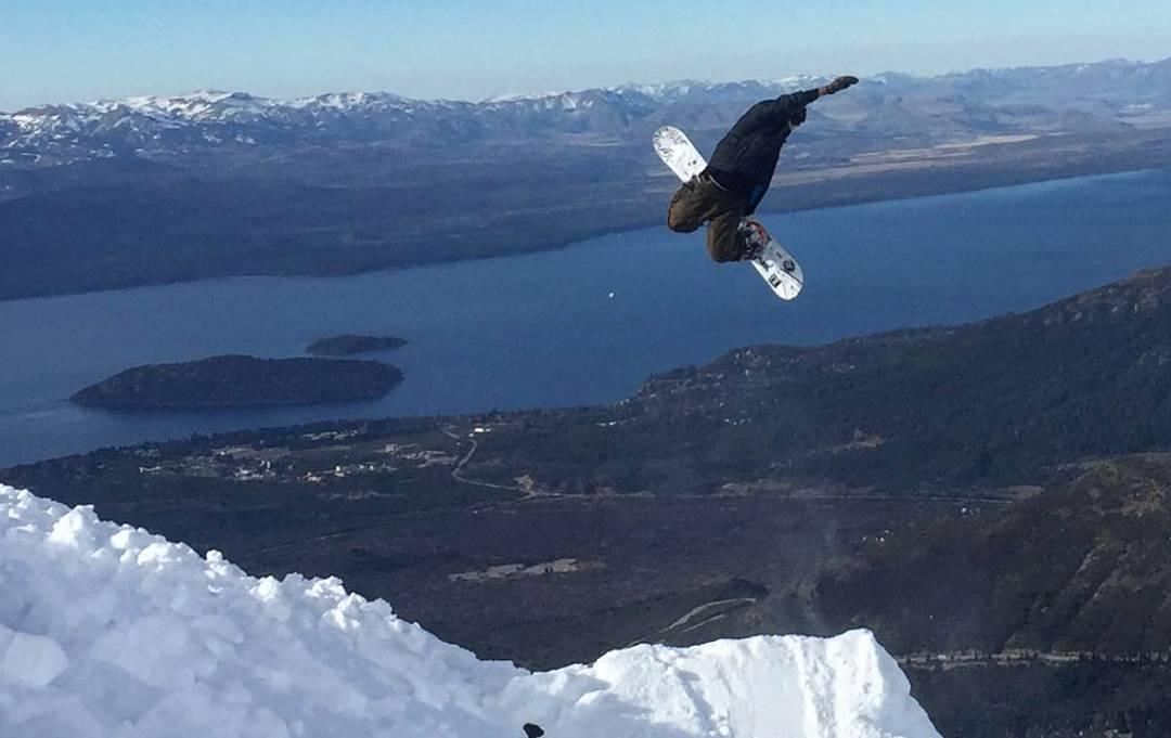 Perfecta panoramica de el lago @fedechiaradio