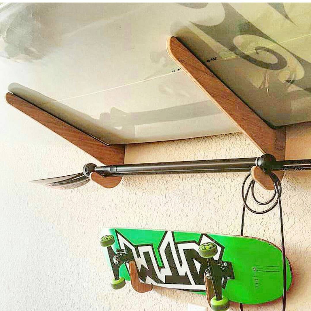 Racks on racks. You want em, we got em. Racks to fit any type of board. Check out our line now!  #grassracks #maholla #bamboo #supracks #surfrack #skaterack #surfboardrack #paddleboardrack #paddleboard #monday #skateboard #skate #home #boardstorage...