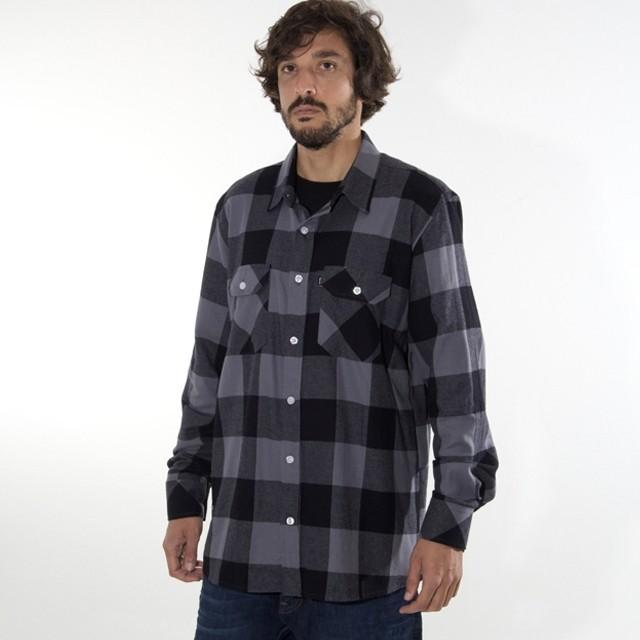 Quem aí curte uma camisa xadrez? Camisa Grey Hard - LOJAQIX.COM.BR #qix #qixskate #streetwear