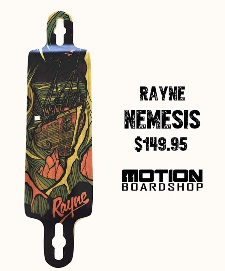 The Nemesis and the entire #gatewayseries has been re-designed, grab one at your local shop! @motionboardshop