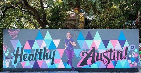 New collab mural by @mezdata and @mikejohnstonartist for @dellmedschool • Repost from: @dellmedschool • #spratx #healthyaustin #truth #mikejohnstonartist #hopeoutdoorgallery #atx #austintx #mural #mez #mezdata #nbk #titscrew #timeistooshort...