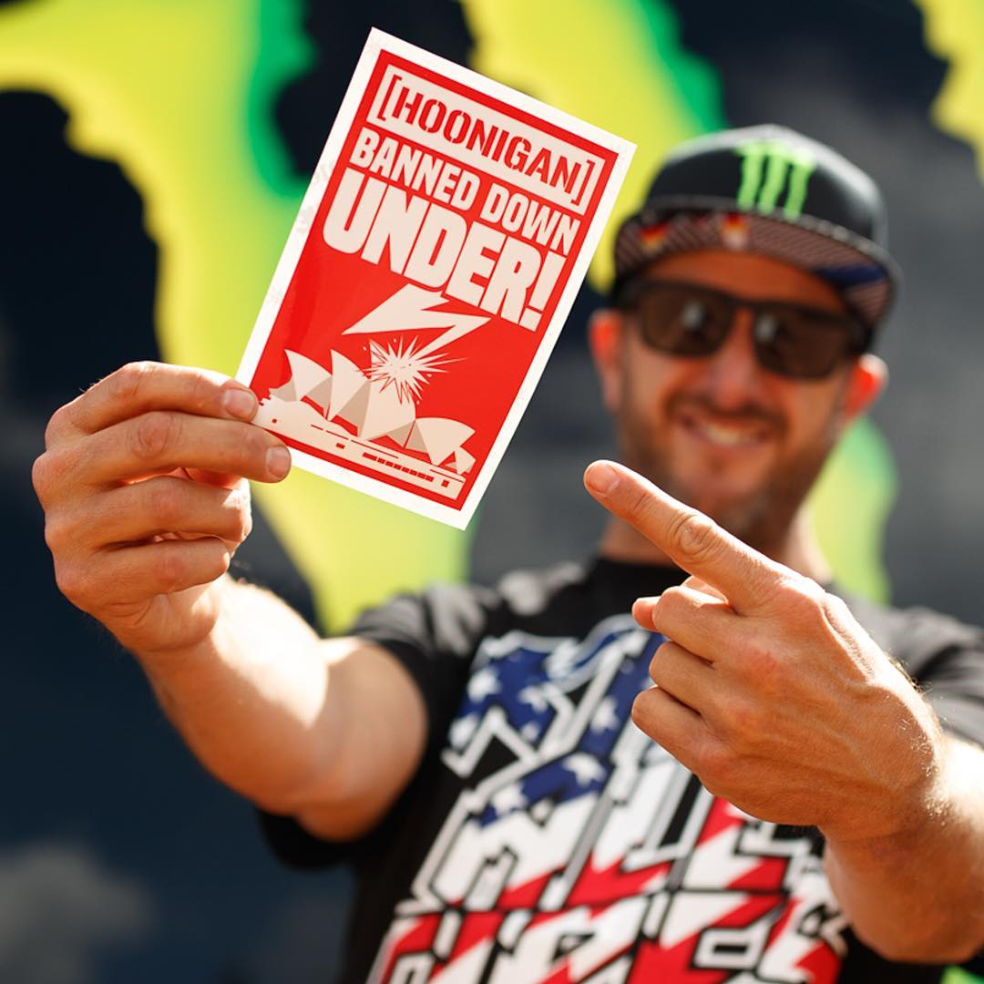 Gymkhana NINE: BANNED down under! Originally, we were going to film GYM9 in Sydney, Australia - but that obviously didn't happen. Get the full story of why and how our production was banned from filming down there in a great article over at...