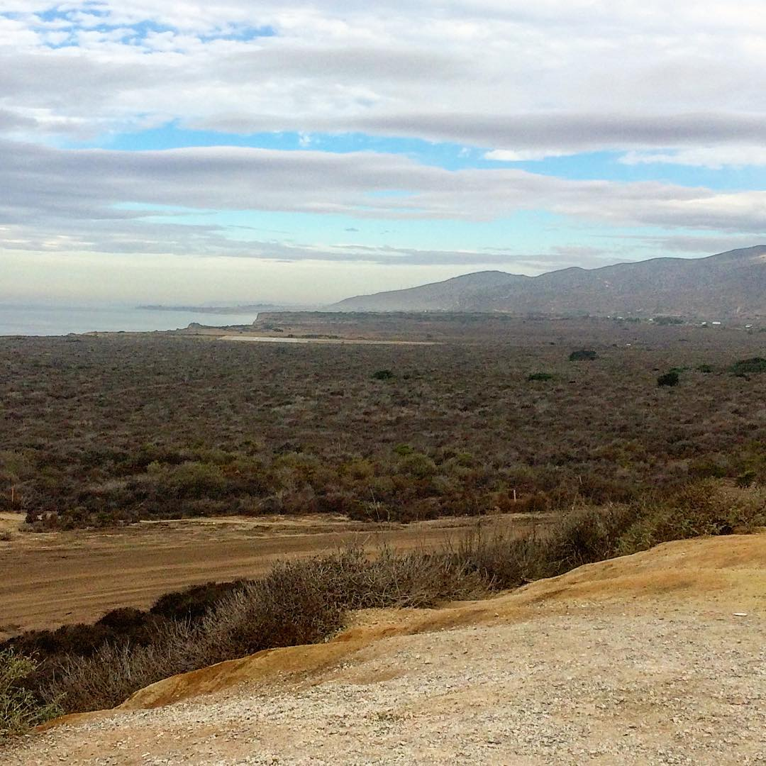 Looking North toward the famed Lower #Trestles from the Camp Pendleton scenic lookout. Yeah, the drive to the office isn't that bad. #lifestyleonwax
