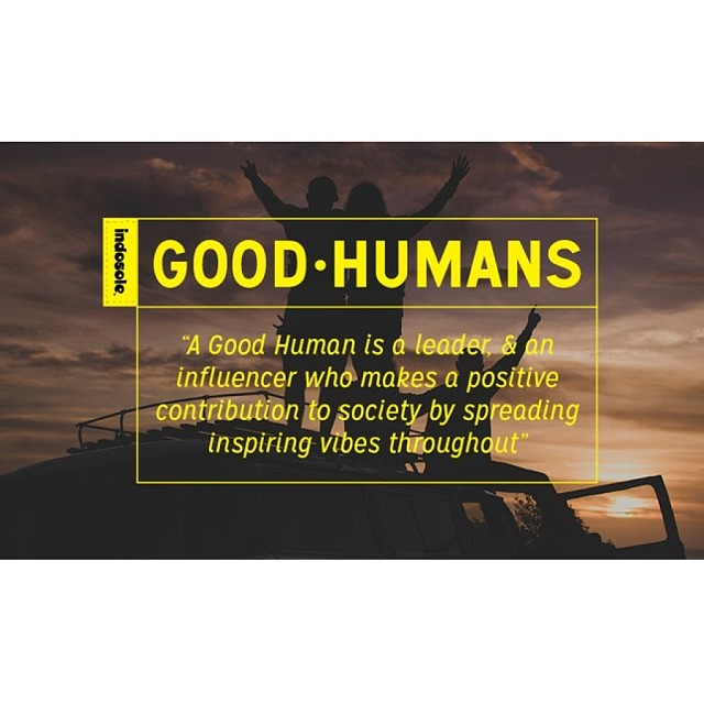 "Traditionally called a ""team"" or ""ambassadors,"" a group of influential people that are special and represent the core values of what a brand stands for...we like to call ours ""The Good Human Crew"" #goodhumancrew"