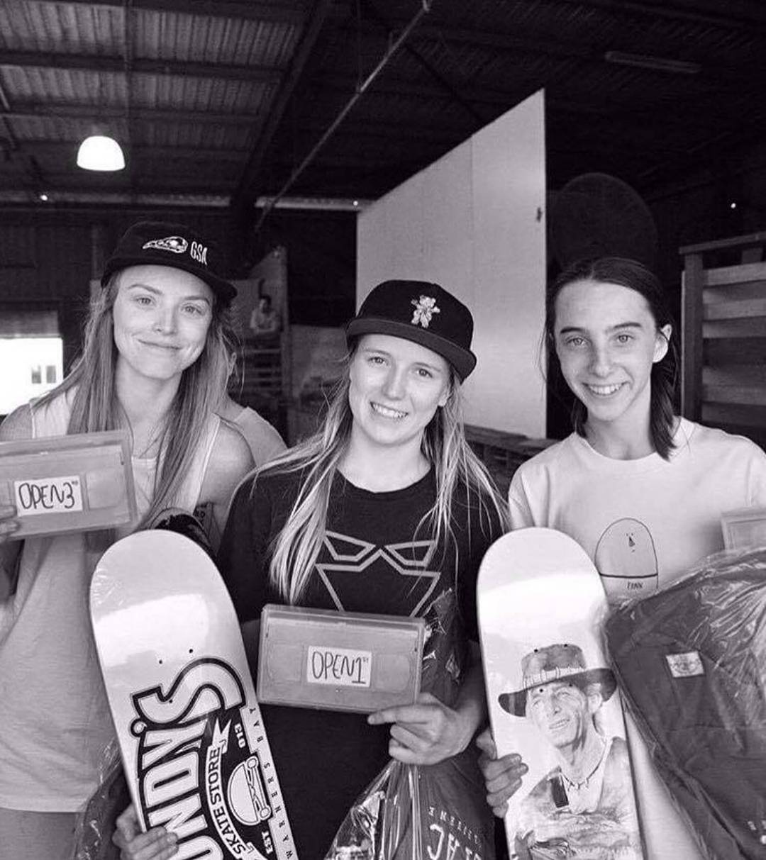 "Congratulations @haybales99 for placing 1st, @lilymcelligott  for placing 2nd, and @aimeemassie for placing 3rd this past weekend in ""Daughters Of Doom!!"" DoD is Australia's only annual professional skateboarding event dedicated solely to women-..."