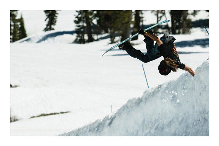 Flux rider, Justus Hines (@justus_4_all) made the trip down from Washington for a Flux shoot at Squaw! (@squawalpine). The northwest kid planted this hand and many other solid tricks while shooting for the new season of the Flux #ReNamed renamed series...