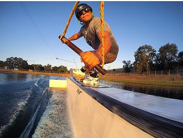 Our boy from Texas @tomfooshee enjoying some late summer fun.  Tom is killing it in the LIL RISKYS out on the water.  #hovenvision #shades #wakeboarding #alwayssunblockingneverfunblocking