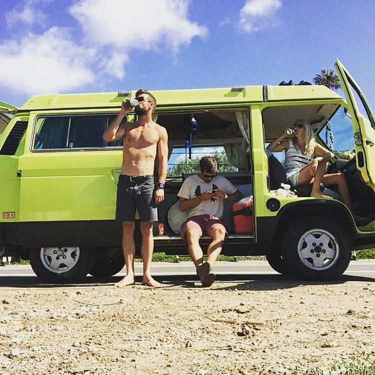@sea_kemp and friends being vagabonds. Check out his art at artofkemp.com || #nectarlife #truefreedom #enjoymore