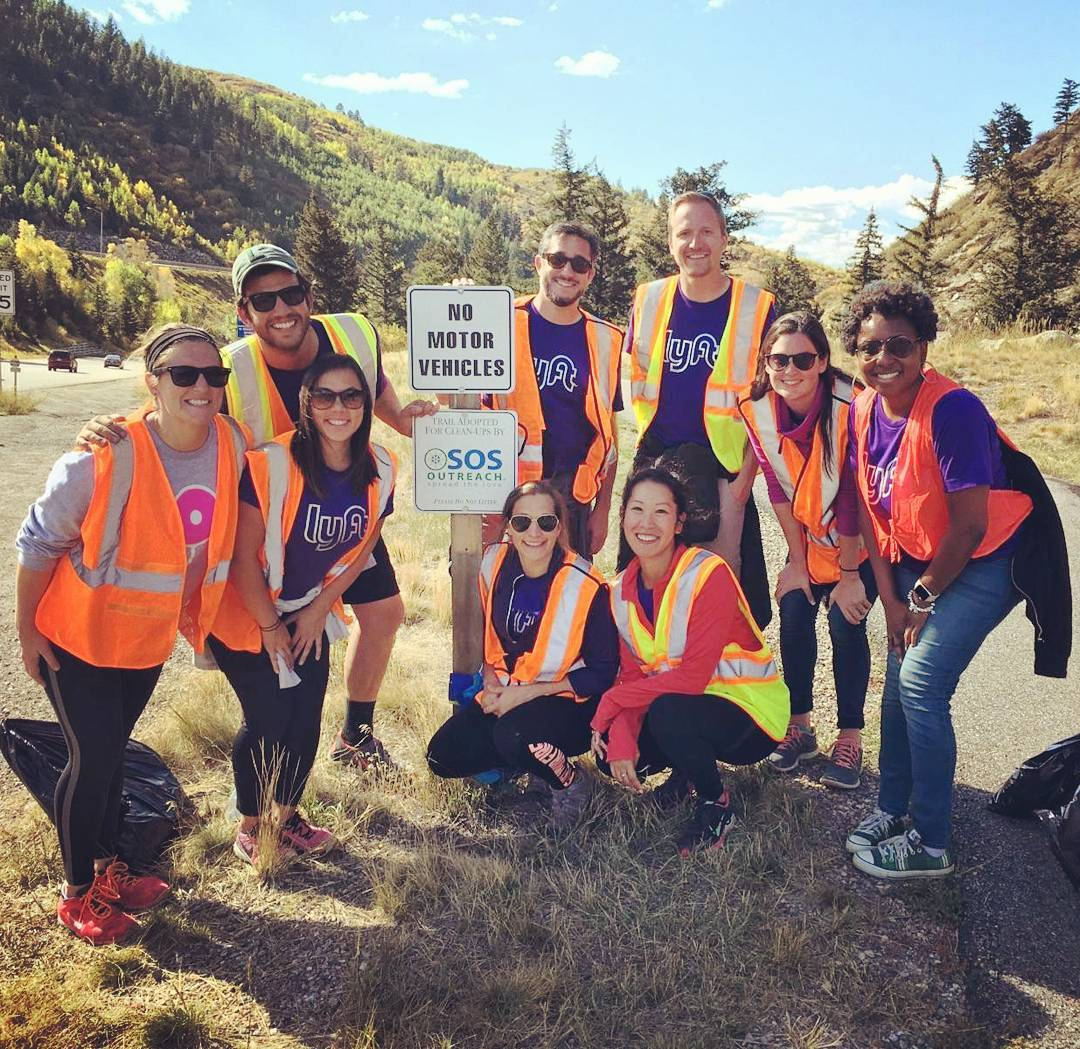 It was great to have the #Denver @lyft Crew up for teams building and service with @sosoutreach ! . . . #lyft #outdoors #active #fun #dogood #colorRADo #instagood #spreadthelove #instagood #inspiring #inspire