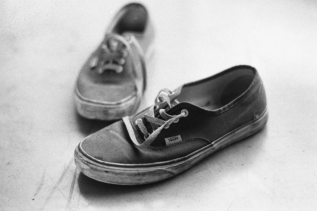 #VansAuthentic en #35mm