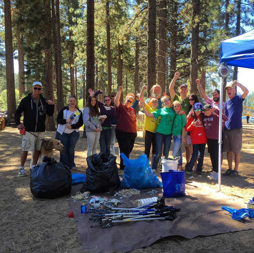 On Saturday, 110 volunteers picked up 825 pounds of trash from seven locations in the Lake Tahoe basin, with a total of 10.5 miles covered. The top trash found was cigarette butts at 2,453 and food wrappers at 1,919. Thanks to Clean Tahoe for being the...