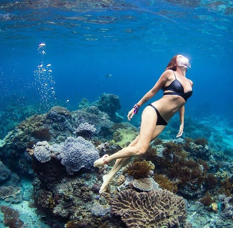 #getoutthere… and have underwater dreams