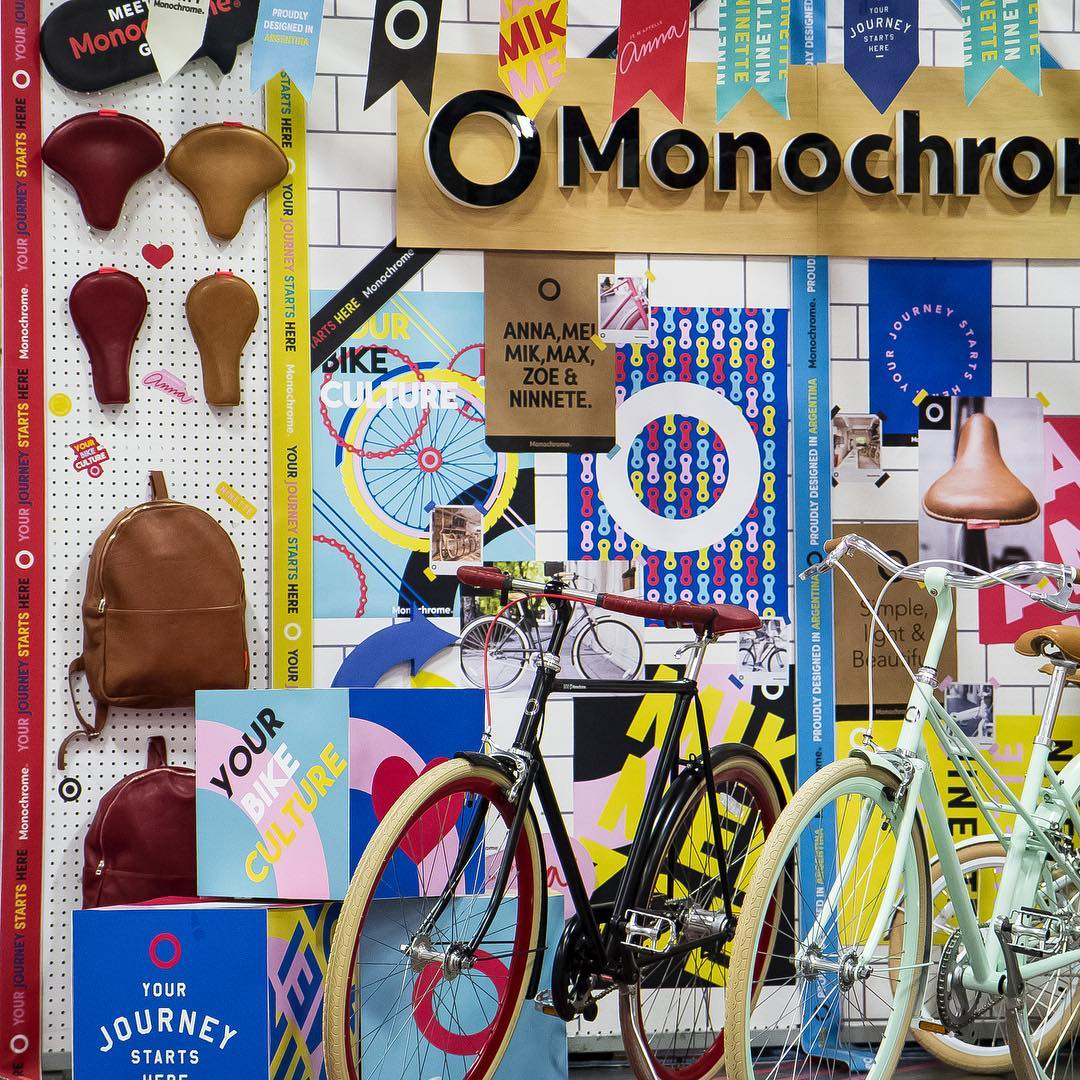 A partir de hoy y por 3 dias vamos a estar exhibiendo en las vegas en interbike!!!! #monochromebikes #ilovemymonochrome #monochromeworldwide