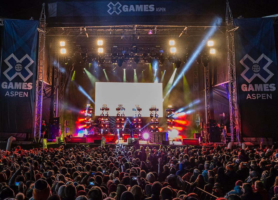 Our #XGames Aspen music, sports and disciplines lineups will be announced this afternoon!