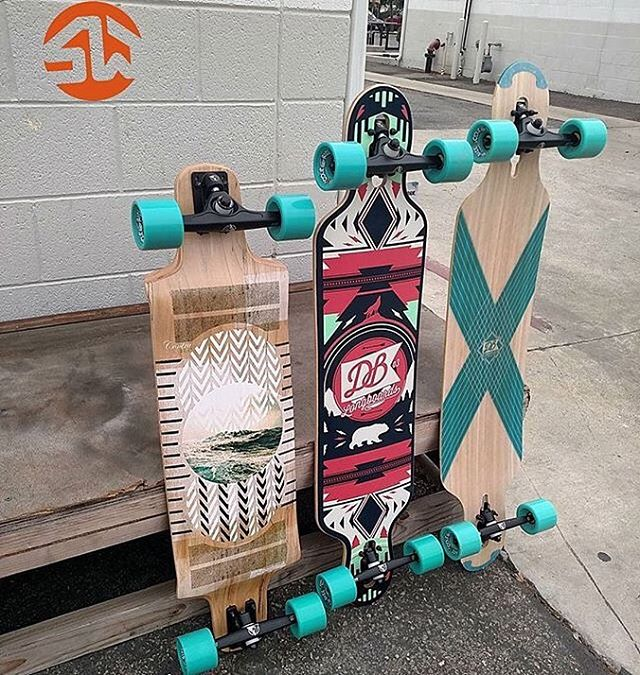 All of your longboarding needs now at Skate Warehouse! @skatewarehouselongboards #longboardlove #skateboards #cruisers #longboarding #downhill