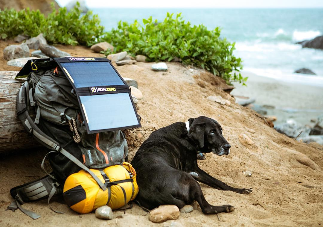 """""""This is Teal. She's been around for the last 14 years. She's one of the few things that can't be recharged with our Sherpa 100. She is however completely rejuvenated by a few nights out exploring the California coast with her humans. This is her..."""