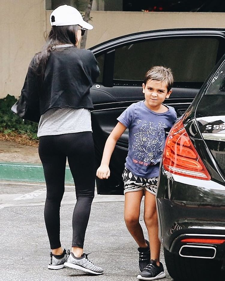 Don't worry Kourtney, we'll convert you soon. That face says it all - Mason knows what's up!