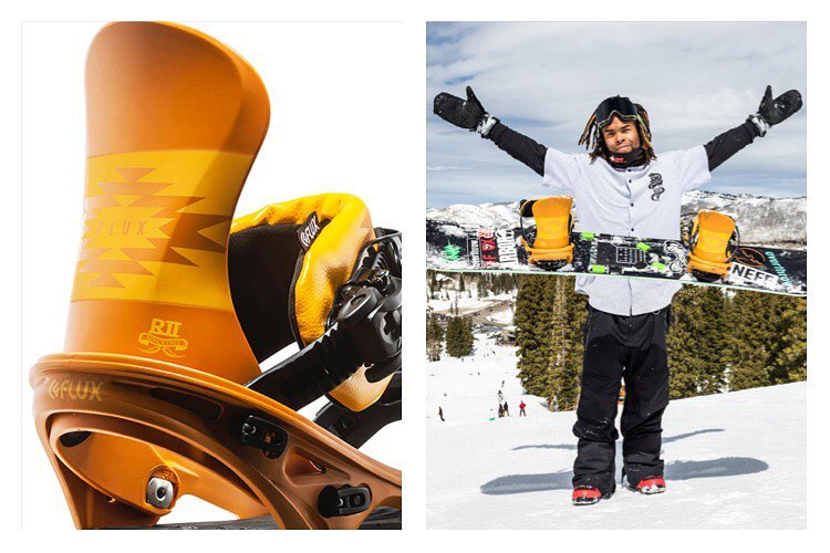 The Flux R2 Mustard Bindings! Don't forget that mustard on your hot dog