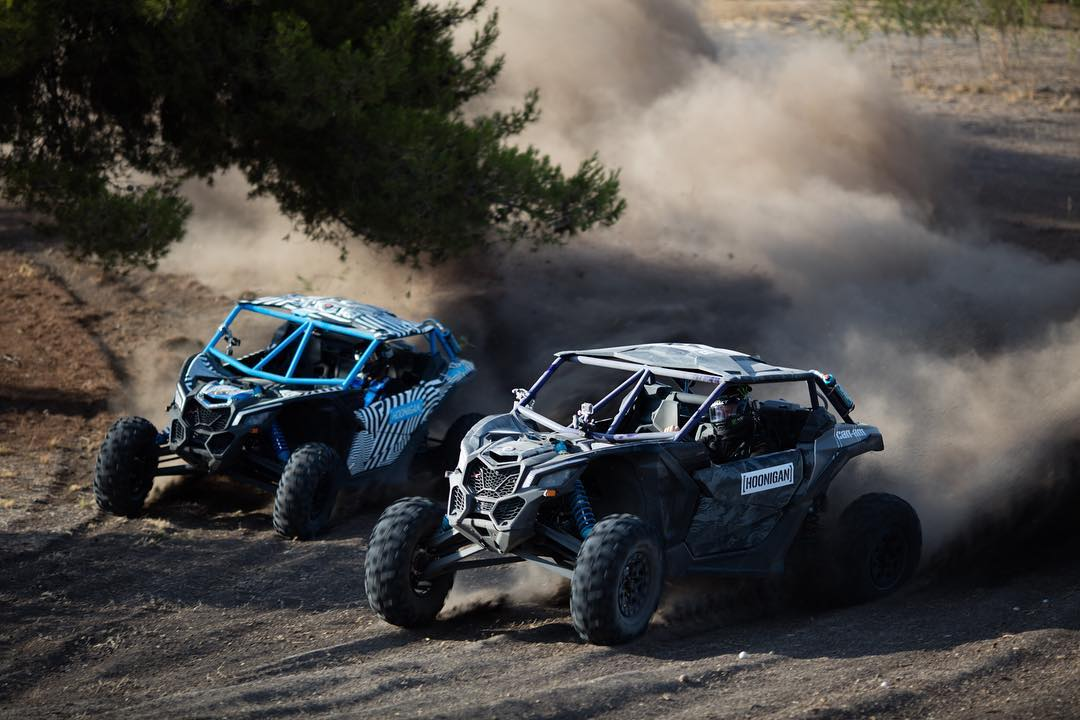 HHIC @kblock43 VS @bjbaldwin. #battlebroyale coming Sept 27th! #canam #maverickx3
