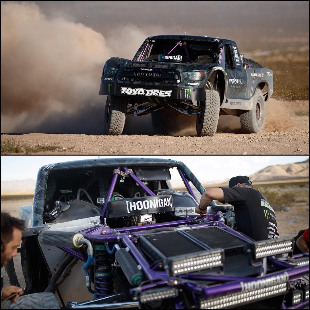 Under the skin of @bjbaldwin's #trophytundra! Photos by @larry_chen_foto!