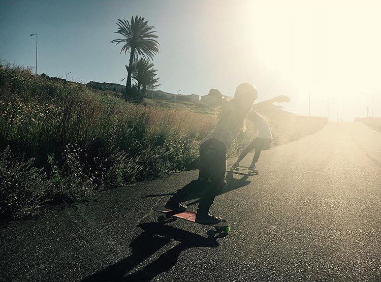 LGC Austria's @annapixner visit LGC South Africa @lgcsa_official's @andreakatzeff and had rad days of shred. As good as it gets! Stoked to see you together