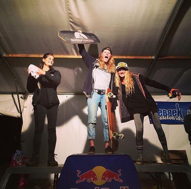 Loralo's Women Podium in Austria! ⚡️ 1. @a7x_liesje  2. @myrjam.weissschuh  3. @jazzyskate  Yes ladies, killing it! Repost @sickboardshop  #longboardgirlscrew #womensupportingwomen #skatelikeagirl #loralo #downhillskateboarding #longboard