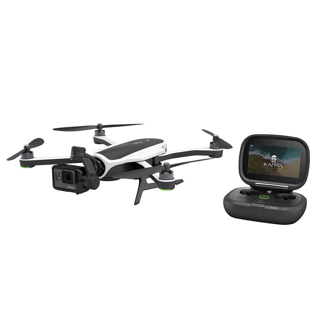 @gopro just introduced their much anticipated KARMA drone with new HERO5 camera... we can't wait to put these to use!  #GoPro #HERO5 #KARMA