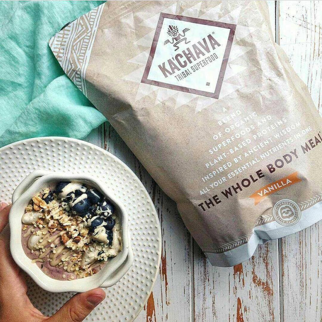 Join the tribe! @Kachavatribe not only makes getting healthier easy and taste great, but every bag also saves #rainforest! #Cuipo #SaveRainforest #Kachava #CleanEating #Superfood