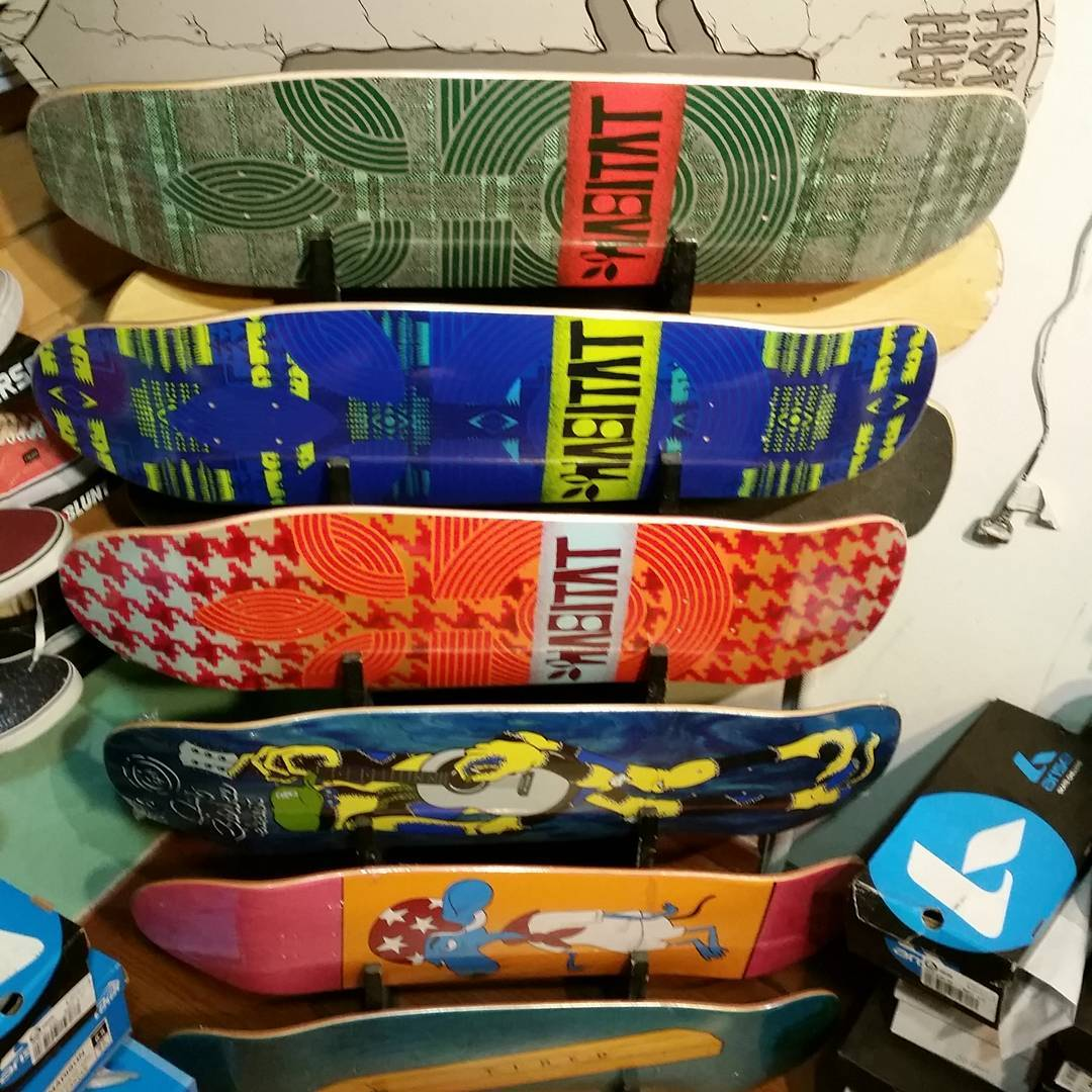 Rack de tablas oldschool/pool medidas: 8.25-8.5-9-9.25-9.5-9.75 #habitatskateboards #tiredskateboards #elementargentina