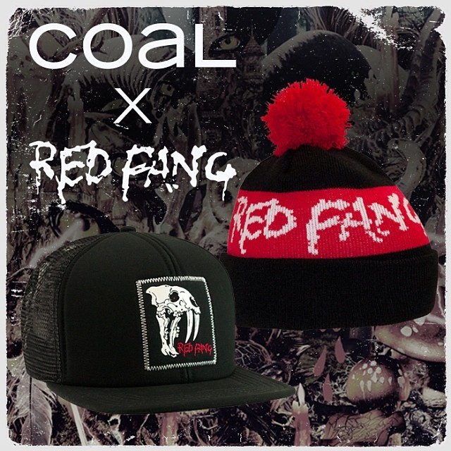 Our @redfangband ambassador page is now live! Head to coalheadwear.com to read up on one of our favorite bands and shop these limited #collab pieces, available online and at all upcoming tour stops.