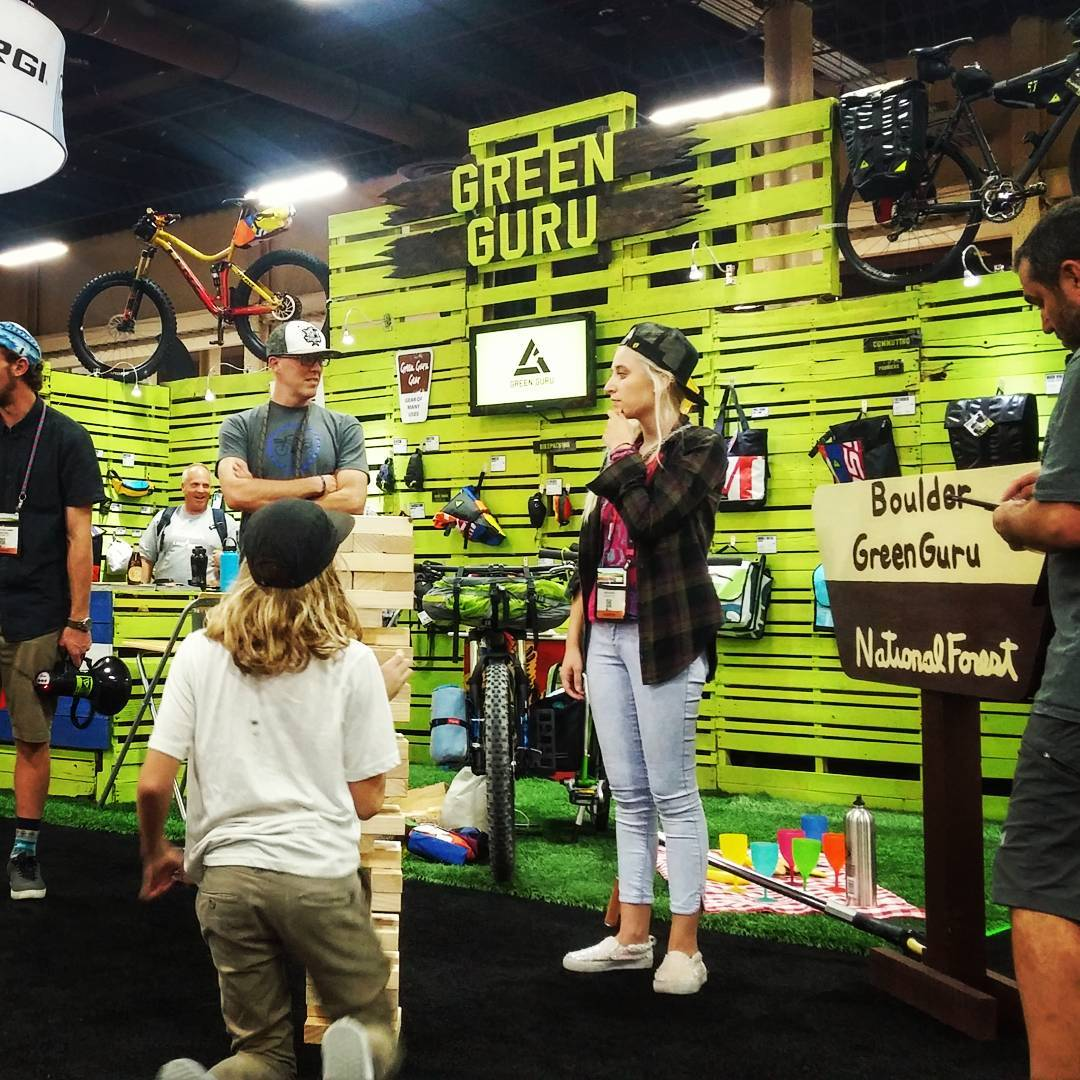 Booth at #interbike is always a good time. Be sure to join us for our #photobooth at 3-6 today and the #mobilesocial at 6:30 in Mandalay Bay parking lot #lasvegas #bikeparty