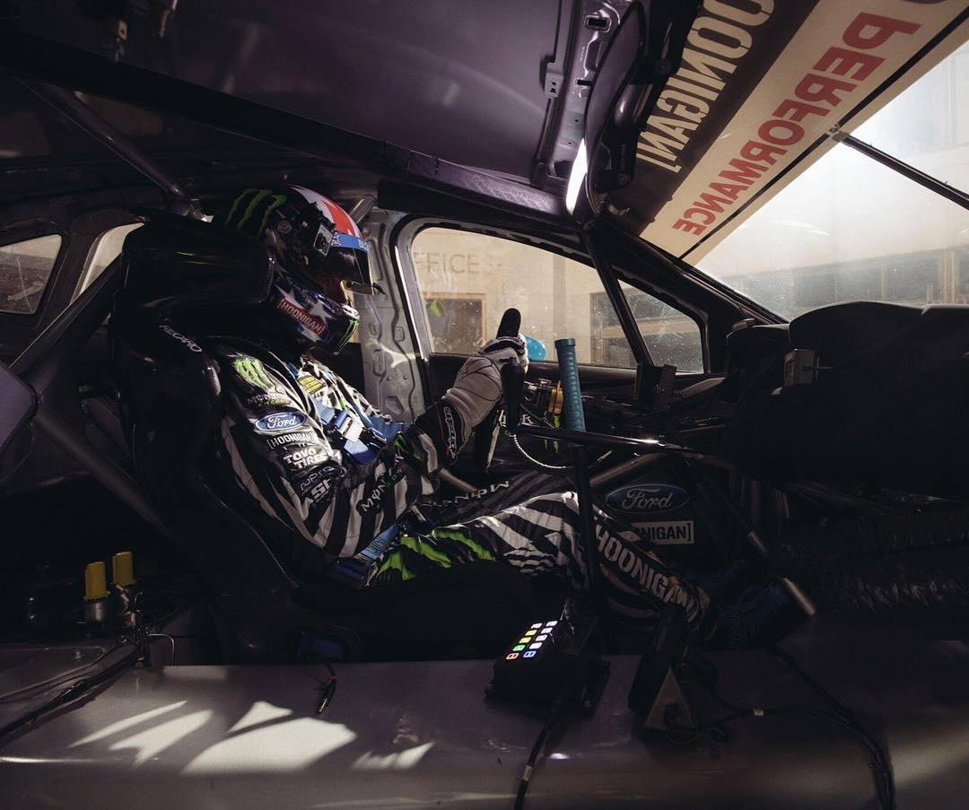 I love my office, no matter where it is in the world. #FordFocusRS #FocusRSRX #GymkhanaNINE