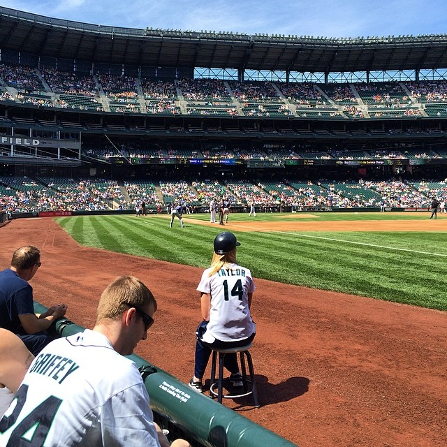 Tough day on the job #workandplay #gomariners
