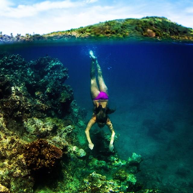 On Fiji time •#iwish @odinasurf @alisonsadventures #sarahleephoto #underthesea
