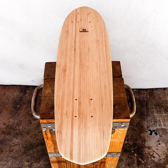 "Nothing better than a blank canvas!  Design your own Roots 29"" deck at www.naturallogskate.com #naturallogskateboards #handcrafted #custom #bamboo #cruiser #skateboards from #California"