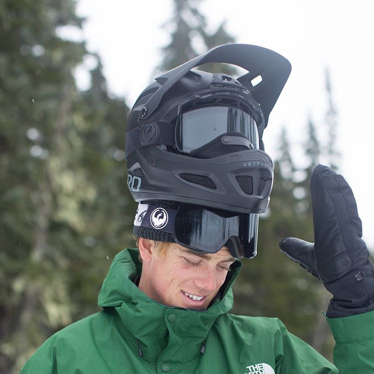 @blakepaul knows you can never have enough eye protection out in the back country. Safety first.