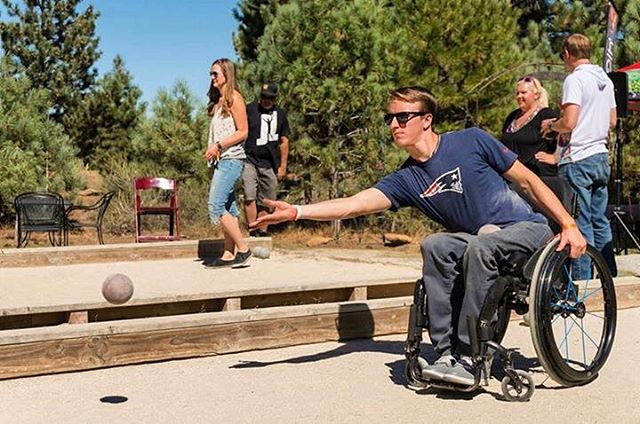 THANK YOU for your support! High Fives 8th Annual Bocce Tournament raised $9,000 for injured mountain sports athletes! #highfivesathlete