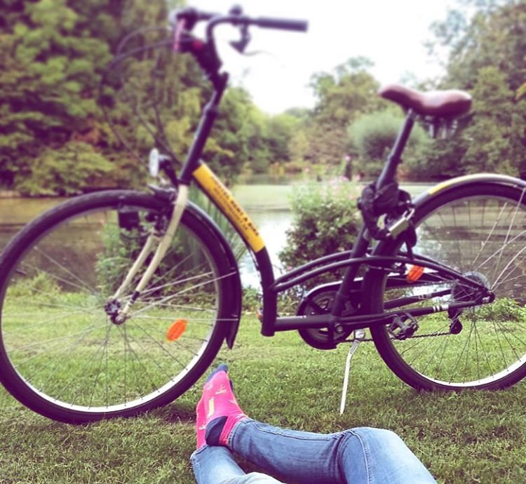Primer #viernes de #primavera sobre ruedas