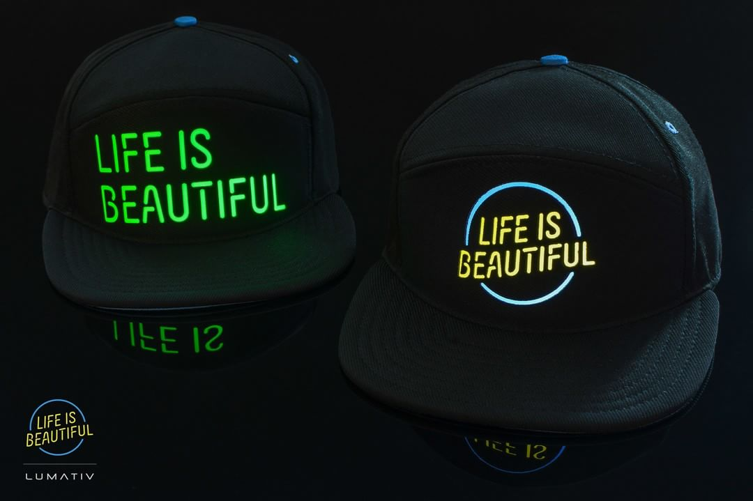 Who's ready for #LifeisBeautifulFest? Look out for the #Lumativ #E6 #LifeisBeautiful Limited Edition. Run to the merch stand before you see your favorite band!!